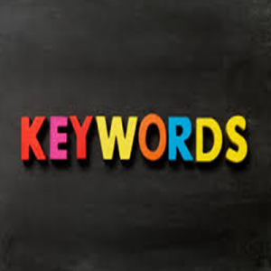fridge magnetic letters spelling out keywords to be used for search engine optimisation